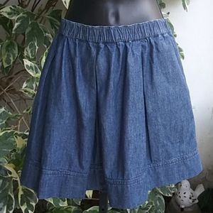 Tommy Hilfiger Wide Waistband Jean Skirt Sz XL